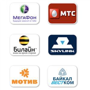 Операторы сотовой связи Приобья